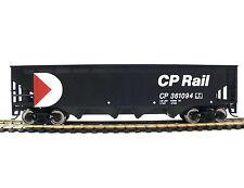 HO Scale Model Railroad Trains Layout Walthers CP Rail Offset Quad Hopper Car
