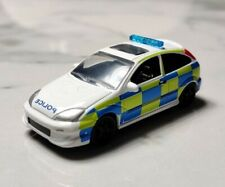 Johnny Lightning 1:64 Ford Focus Police 2003 Euro Cop LOOSE RARE MINT