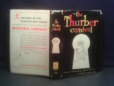 THE THURBER CARNIVAL  JAMES THURBER  FIRST MODERN LIBRARY EDITION  1957  HC/DJ