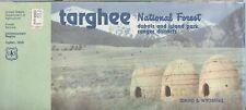 USDA National Forest Service map ID WY TARGHEE DUBOIS ISLAND PARK Ranger 1984