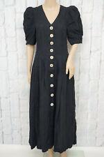 Leinen! BERWIN & WOLFF ♫ Trachten Kleid Dirndl Gr. 38 Dress Robe Damen