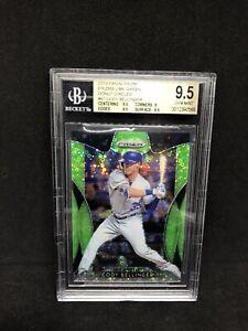 2019 Panini Prizm Cody Bellinger Lime Green SP Card #/199 BGS 9.5 LA Dodgers