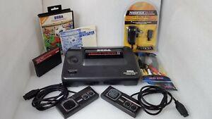 Modded SEGA Master System II +Video RCA+50/60 Hz+LED+Dual Mono+2 Games