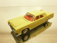 TEKNO DENMARK 829 FORD LINCOLN CONTINENTAL - YELLOW 1:43 - VERY GOOD CONDITION