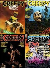 151 Old Issues Of Creepy Comic Horror Thriller Science Sexy Art Magazine On Dvd