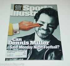 DENNIS MILLER Sports Illustrated SI Magazine NFL Monday Night Football, 7/3/2000