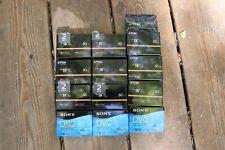 Sony & TDK Mini DV Tape - Lot of 12, new in package
