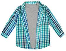 T-shirts et hauts bleu avec des motifs Carreaux pour garçon de 2 à 16 ans
