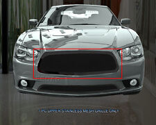 Wire Mesh Grille Grill Upper For Dodge Charger 2011 2012 2013 2014