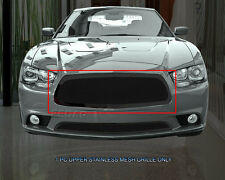 Fedar Wire Mesh Grille Upper Insert For Dodge Charger 2011 2012 2013 2014
