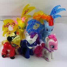 Lot of 5pcs pony brushable power pony exclusive Rarity Rainbow Dash