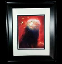 Hubble Telescope: Cone Nebula Cosmos Universe Wall Print (Matted & Framed NEW)