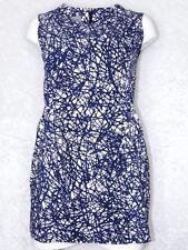 LA Editior Mini Dress White & Blue XS-Small