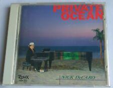 NICK DE CARO PRIVATE OCEAN CD NEIL LARSEN DEAN PARKS MICHAEL LANDAU ABE LABORIEL