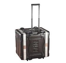 Gator Cases GRR-10L Molded Pe Travel Rack Case Heavy-Duty W/ Portable Wheels New