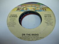 Soul 45 DONNA SUMMER On the Radio on Casablanca