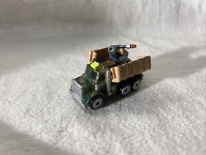 MICRO MACHINES GALOOB 1991, Camion militaire toit ouvrant lance missiles