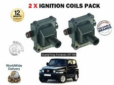 für DAEWOO SSANGYONG KORANDO 2.3i GLS E23 Motor 1997- > NEU 2 x Zündspule Set