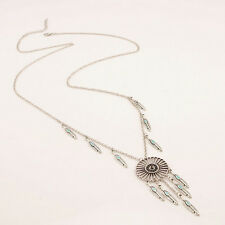 Elegant Dream-catcher Pendant Necklace Feather Tassel Necklace Fashion Jewelry