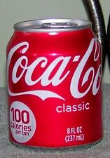 2007 USA Coca Cola Classic 8 Oz 237 Ml Mini Size Full Short Coke Can
