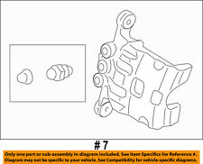 FORD OEM 11-16 Fiesta Front Brake-Disc Caliper BE8Z2B120AA