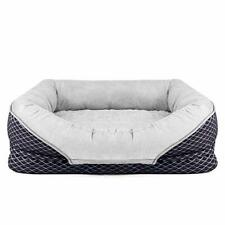 New listing Pet Deluxe Dog Beds Large Pet Bed Orthopedic Dogs Lounge Sofa Pets Couch Beds.