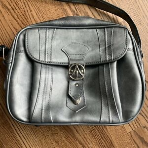 Vintage 1975 American Tourister Luggage Carry On Shoulder Bag Silver Gray