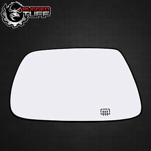 New Driver Side Mirror Heated Glass W Backing Fits 2005-2010 Jeep Grand Cherokee