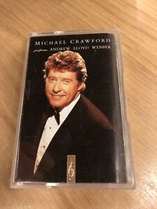 Michael Crawford performs Andrew Lloyd Webber Audio Cassette Tape 5014469325449