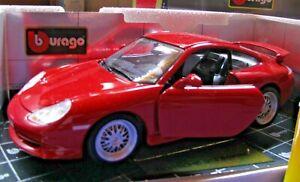 MODELLINO PORSCHE 911 GT3 BURAGO SCALA  1:18