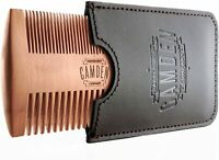 Peigne à barbe «ULTRA-LÉGER» de Camden Barbershop Company ● En Bois de Poirier ●