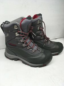 Womens Columbia Grey Techlite Titanium Boots Size 9