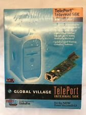 NIP Global Village TelePort Internal 56K V.90 Fax Modem for Power Macintosh G3