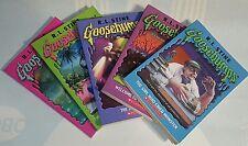 Goose Bumps Book Lot of 5