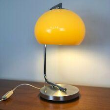 Rare Harvey Guzzini Vintage Table   Desk   Bedside Mushroom Lamp