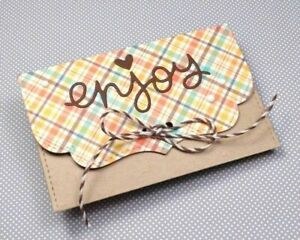 Envelope Metal Cutting Dies Stencil Scrapbook Embossing Paper Craft Card Making