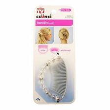 Scunci Bendini Oval Beaded Snap Comb