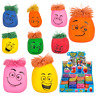 Funny Moody Face Squishy Moulding Stress Ball Emoji Kids Party Bag Filler Toy UK