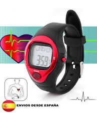 reloj pulsometro contador de calorias para deporte gimnasio (rojo)