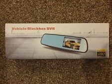 Vehicle Black Box Camera Rear View Mirror Cam Recording Recorder DVR Car
