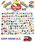 144 Pokemon Toy Mini Figures Monster Animation Model Collection XMAS Gift For Sale