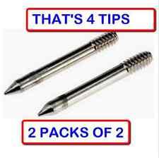 (2 PACKS OF 2) Weller MT1 Shape Soldering Iron Tip for models SP23 / SP25 irons