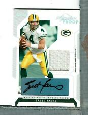 Brett Favre Auto Jersey 8/25, 2006 Donruss Signature Proof, Packers