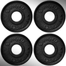 Gusseisen Gewicht Platten 4 x 1.25kg kg Passform 5.1cm Olympische Riegel