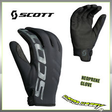 GUANTO CROSS ENDURO SCOTT GLOVE NEOPRENE COLORE NERO TAGLIA M (9)