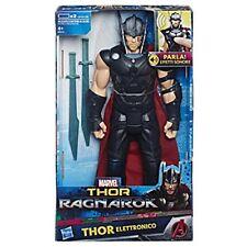 Personaggio Thor Titan elettronico 30 cm Action Figure Parlante Ragnarok Hasbro