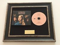 SIGNED/AUTOGRAPHED LONDON GRAMMAR - TRUTH IS A BEAUTIFUL THING FRAMED CD. RARE