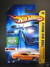 Hot Wheels 2006 #029 '70 Dodge Challenger HEMI ORANGE,Y5,WIN LOGO,US CARD