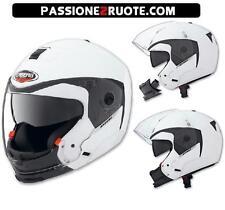 Casco jet integrale helmet capacete casque moto CABERG HYPERX BIANCO WHITE