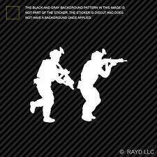 (2x) Pair of Special Forces Operators Sticker Die Cut Decal Self Adhesive Vinyl